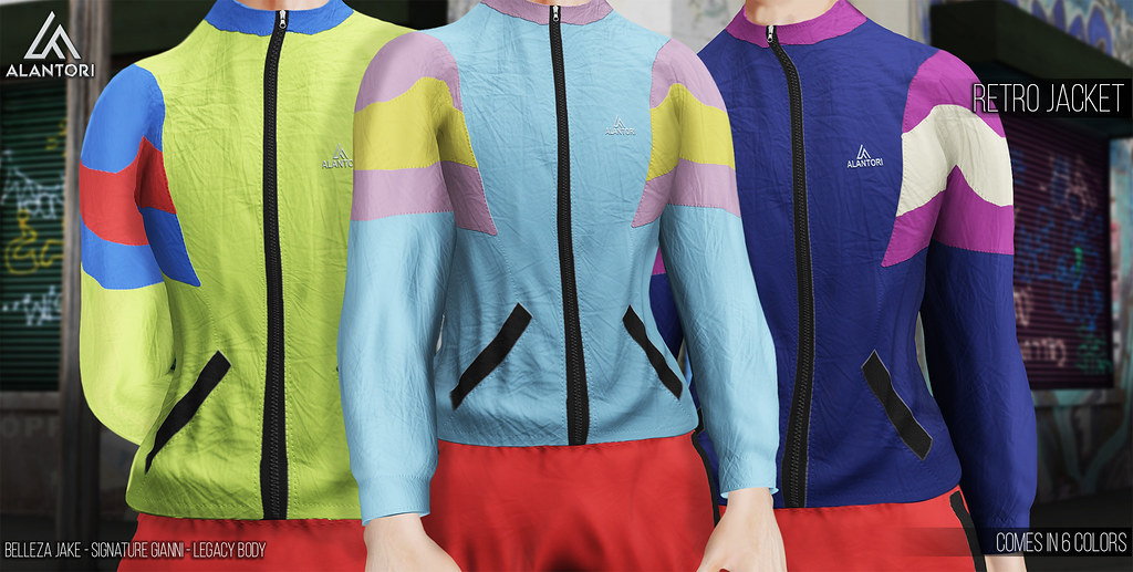 ALANTORI | Retro Jacket