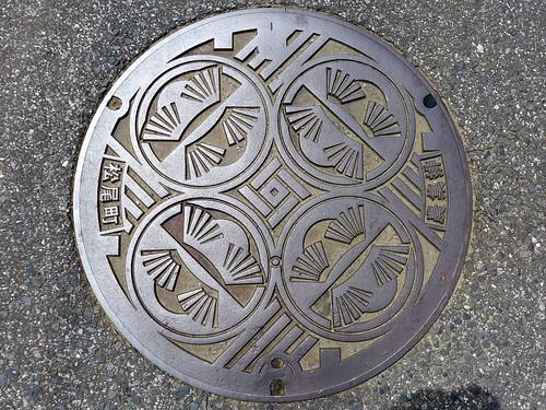 Matsuo Chiba, manhole cover 2 (千葉県松尾町のマンホール2)