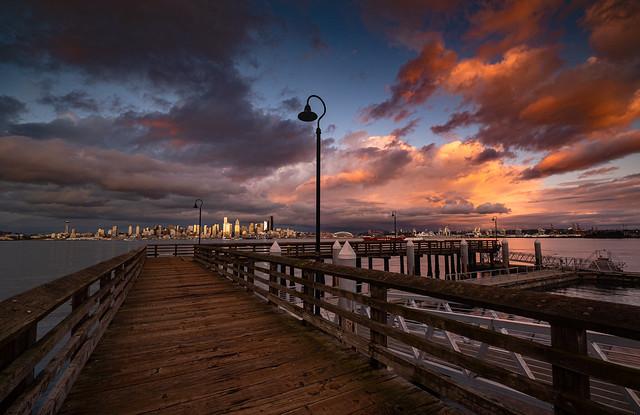 West Seattle evening light
