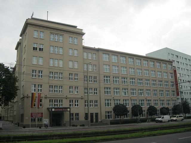 1955/60 Berlin-O. Verwaltungsgebäude VEB Energieprojektierung Otto-Braun-Straße 90 in 10249 Friedrichshain