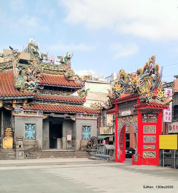 桃園大廟景福宮(Jinfung temple) at Taoyuan city, North Taiwan, SJKen, Dec 13,2020.