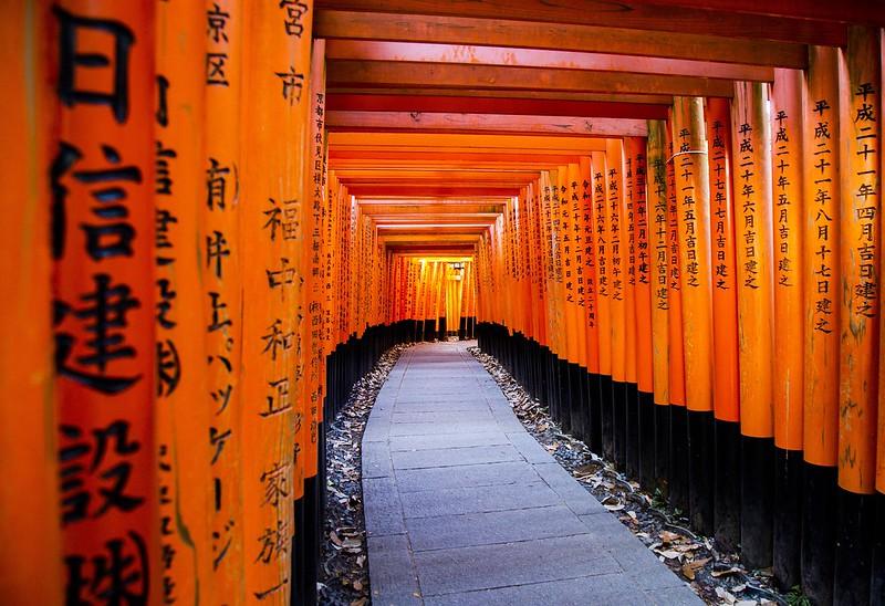Fushimi Inari Shrine, Kyoto, Japan Tuyen Chau