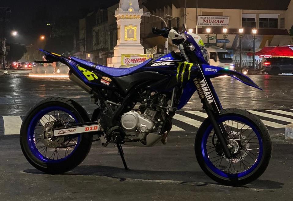 Modifikasi Yamaha WR 155 R Supermoto