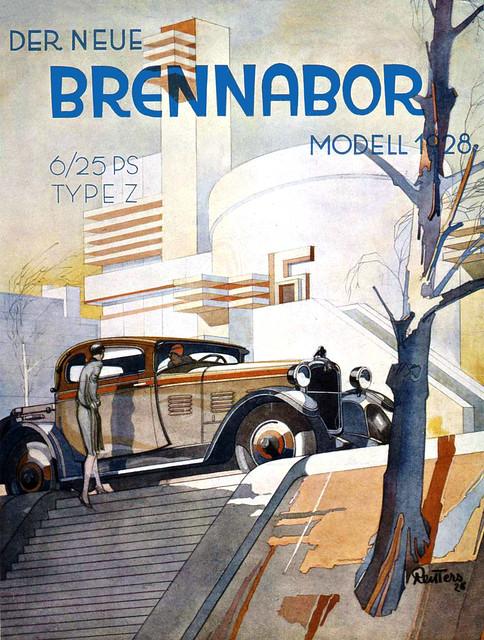 REITTERS. Der Neue Brennabor, Type Z, 1928