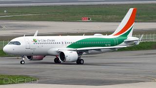 Air Cote D'ivoire A320-251N msn 10197 TU-TSX