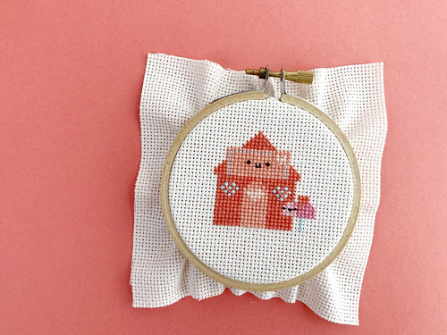 Lovely Envelope House Cross Stitch | by wildolive