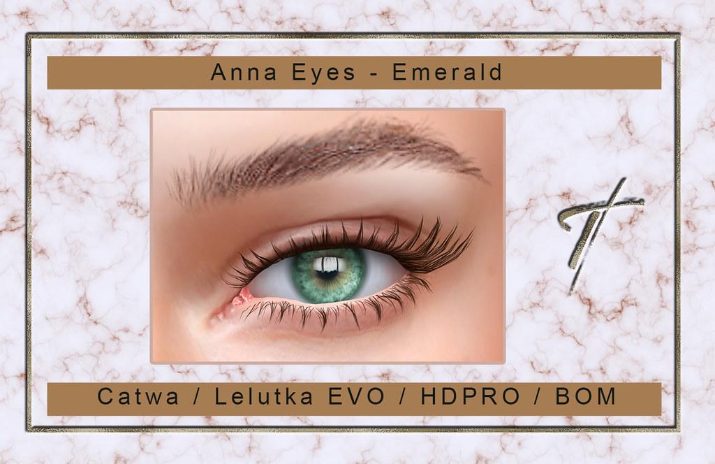 Tville – Anna Eyes *emerald*