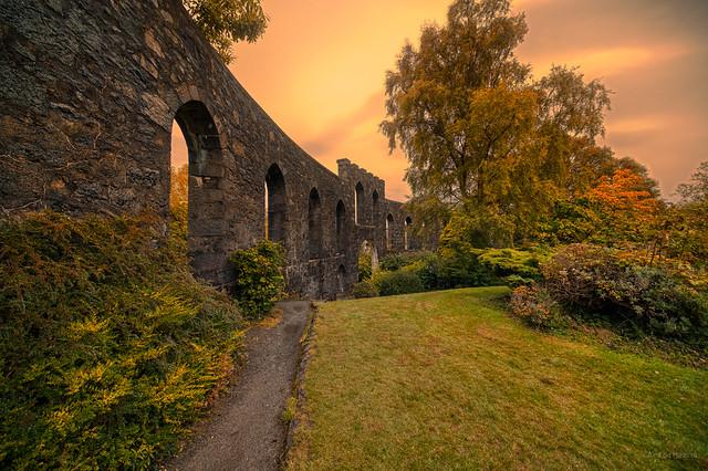 McCaig's Tower, Oban, Scotland.