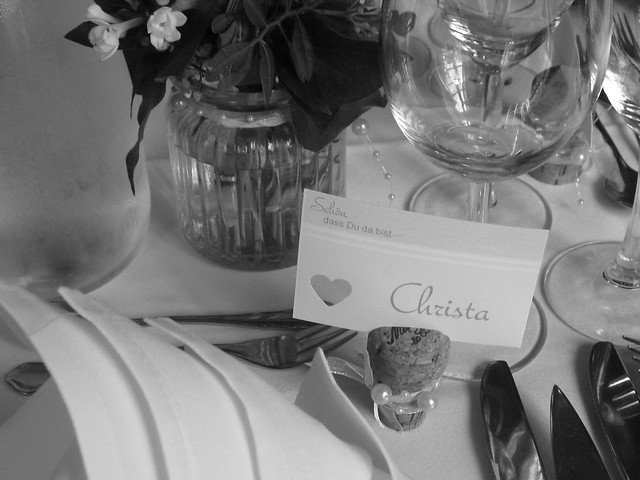 "Mein Name ist""Christa""."