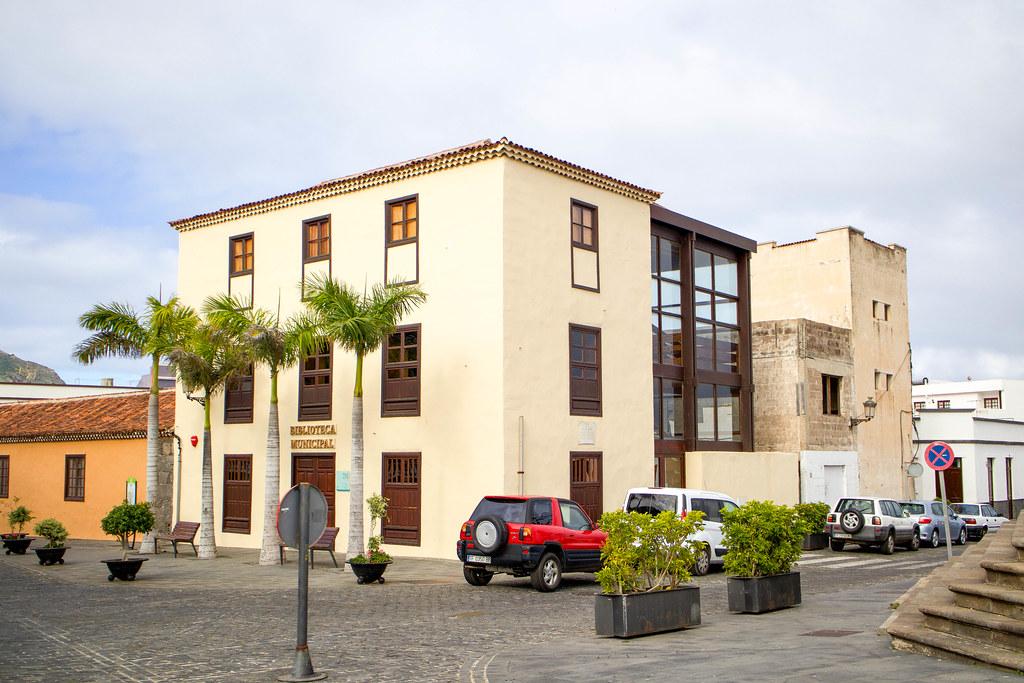 Casa Granero y Biblioteca municipial de Buenavista