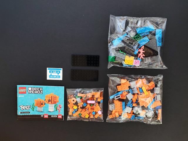 LEGO BrickHeadz Goldfish (40442)
