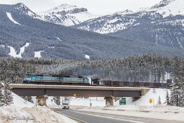 CP Work Train @ Lake Louise, AB
