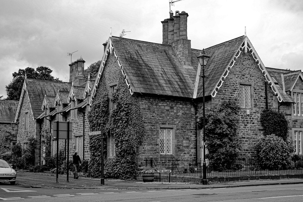 Brancepeth Village (County Durham / UK).