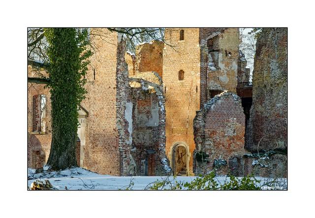 Wintersonne...Ruine Bleijenbeek
