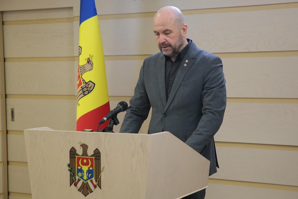 18.02.2021 Briefing de presă, susținut de deputatul Vladimir Bolea, Fracțiunea PAS BLocul ACUM