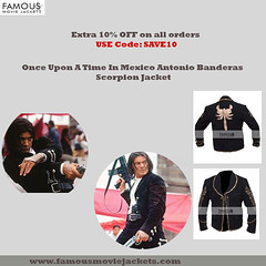 Once upon a time in Mexico antonio banderas jacket.