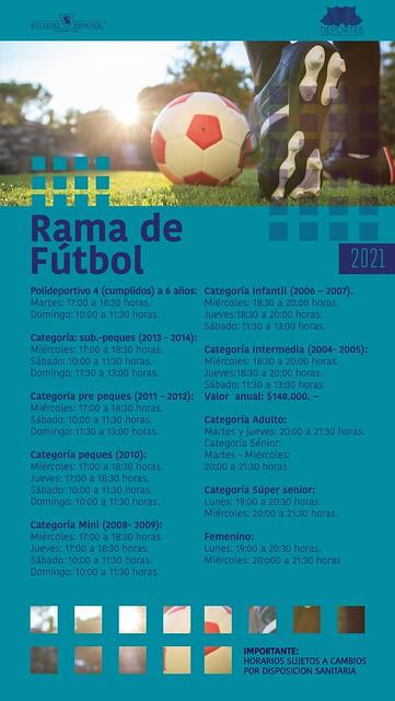 Afiche Deportes 2021