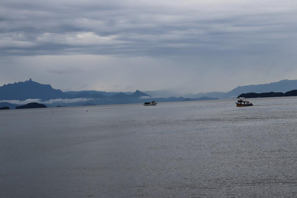 Vista da Baía de Paraty