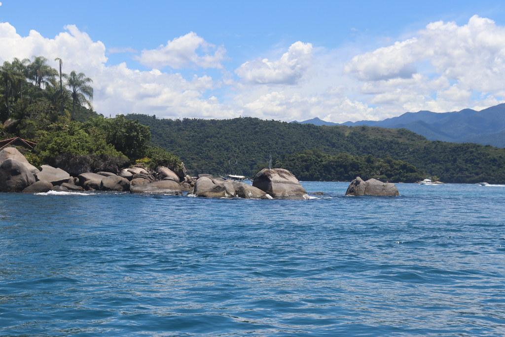 Pedras na Lagoa Azul