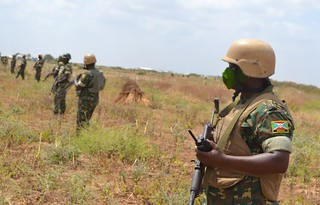 AMISOM, SNA in security operations to secure Electoral process | by AMISOM Public Information
