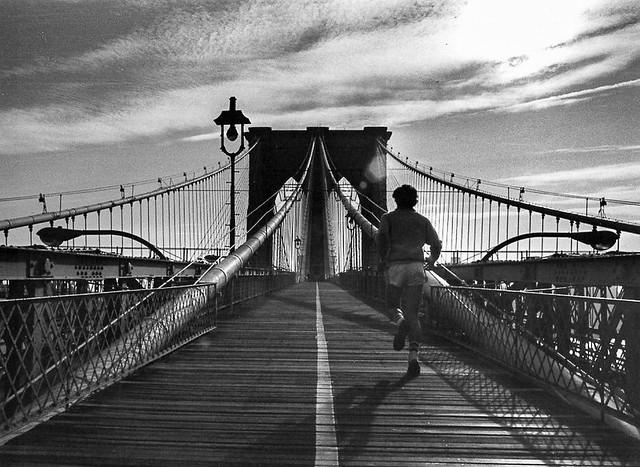 Brooklyn Bridge runner