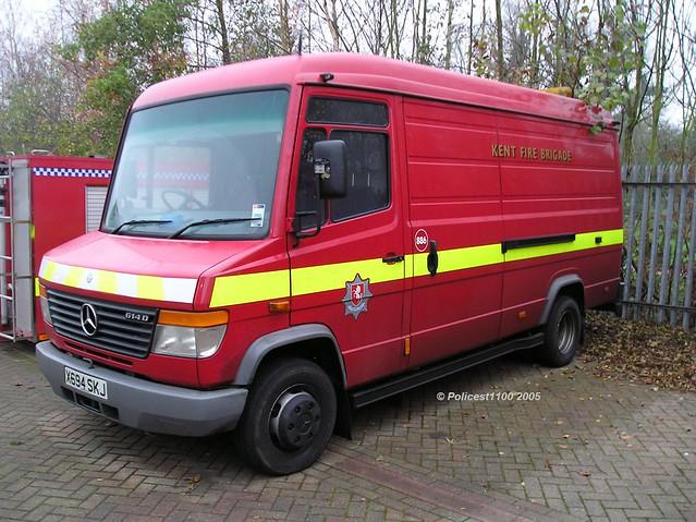 Kent Fire & Rescue Service MB 614D X694 SKJ