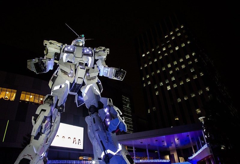 Giant Unicorn Gundam Statue, Odaiba, Japan Tuyen Chau