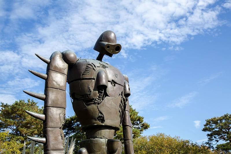 Laputa Statue, Studio Ghibli Museum, Mitaka, Japan Tuyen Chau