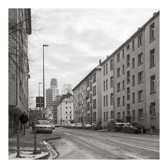 Blick in die Siemensstraße