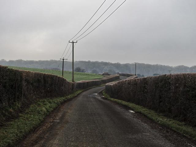Winchester, Freezing fog