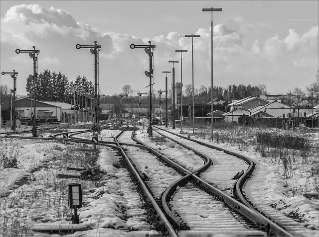 Der kleine Bahnhof (Pocking)  / The little train station (Pocking)