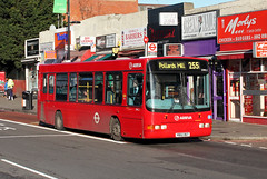 Route 255, Arriva London, DWL2, Y802DGT