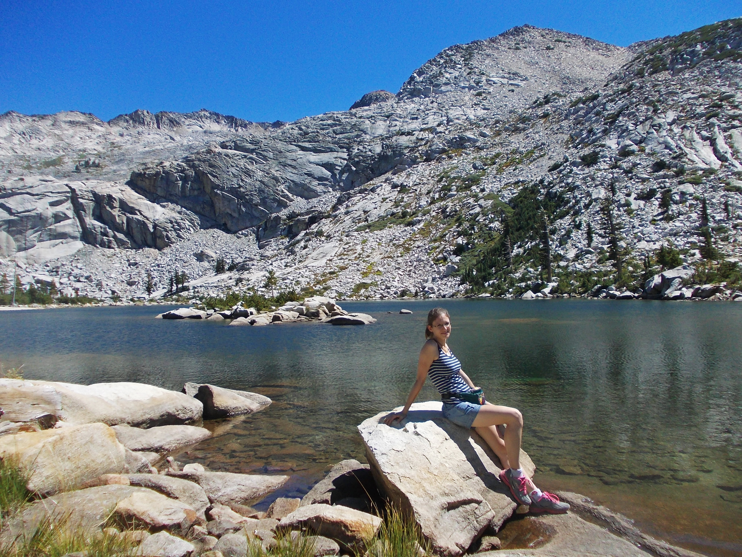 Twins Lake Trail, Desolations Wilderness, California, USA