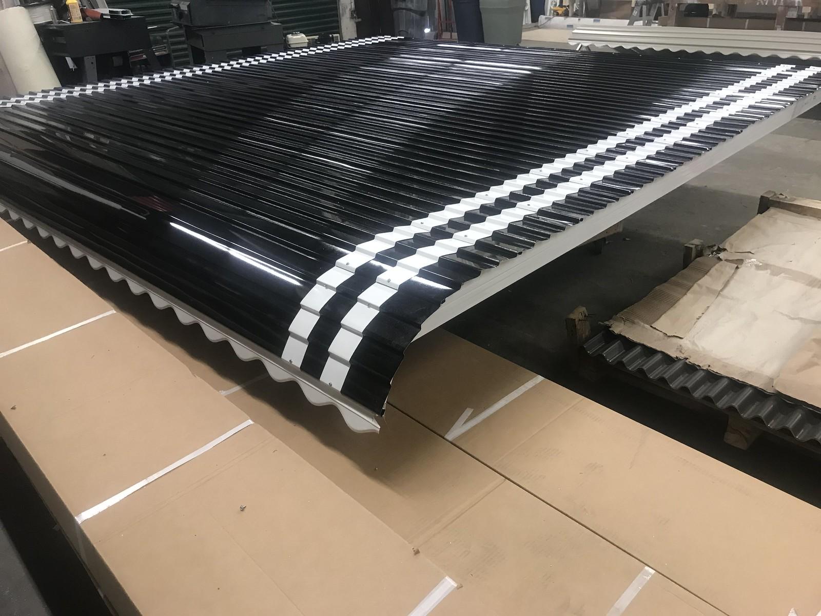 Hoffman manufactured Aluminum Awnings