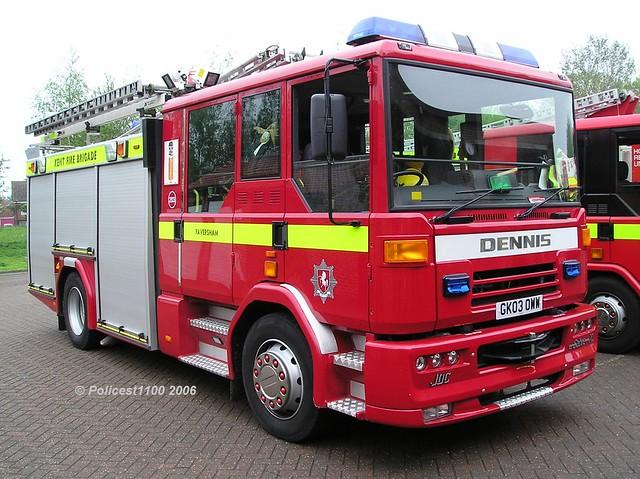 Kent Fire & Rescue Service Dennis Sabre GKO3 OWW