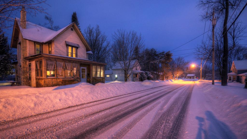 Winter Streets I
