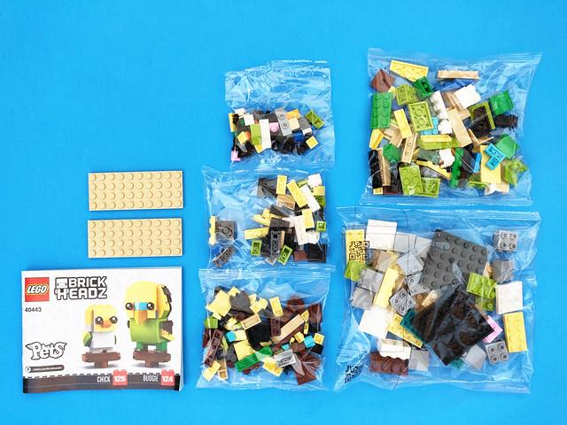 LEGO BrickHeadz Budgie (40443)