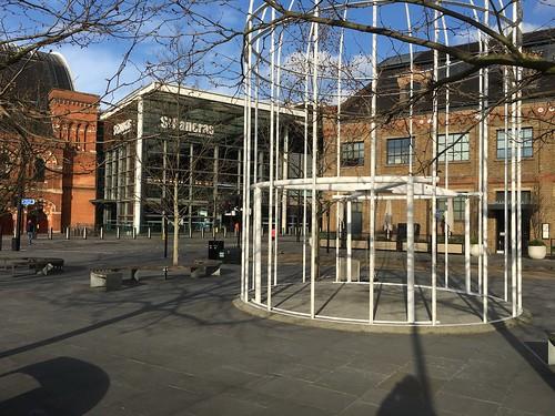 Walking across to St Pancras Kings Cross to Liverpool Street walk