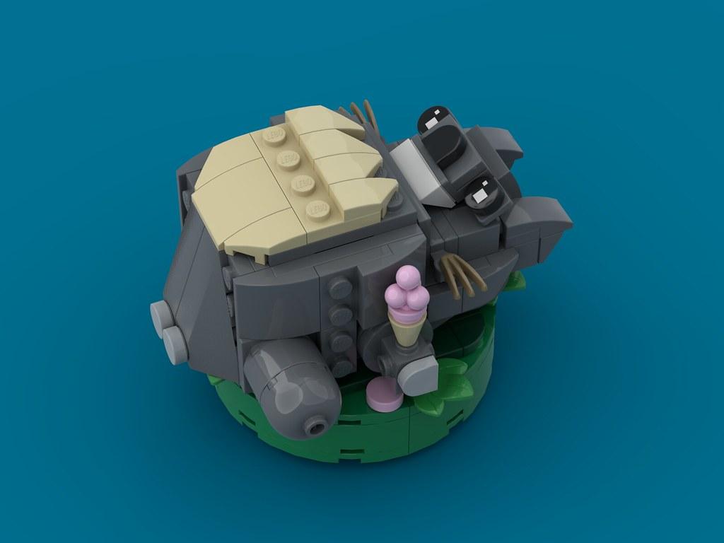 Totoro: Ice-cream on the Job