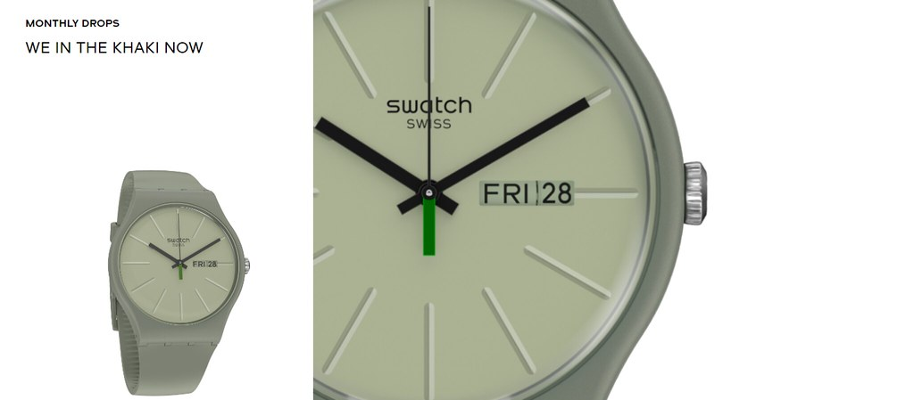 Swatch - We in the Khaki Now