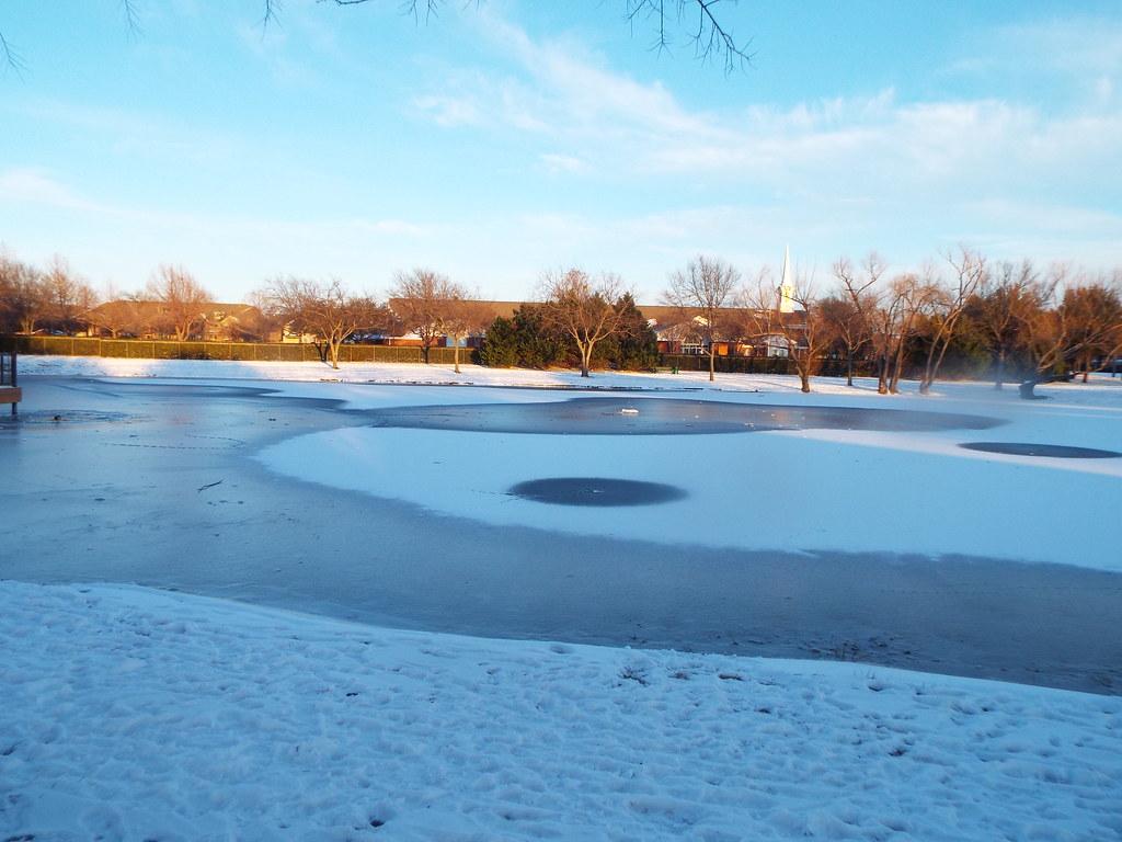 Glendover Park in the Snow, February 18, 2021