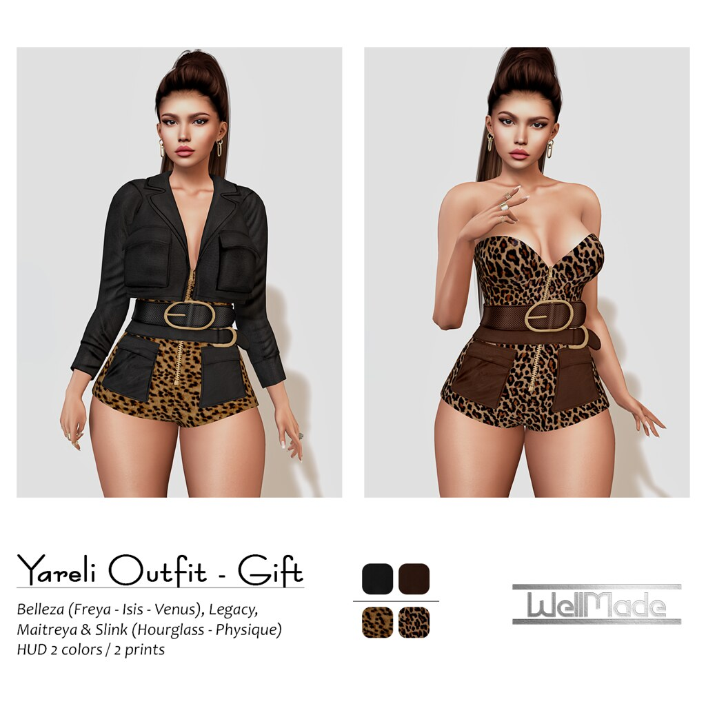 [WellMade] Yareli Outfit GIFT