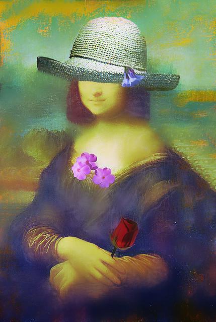 Mona's New Straw Hat