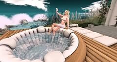 Bathing...