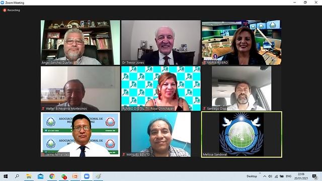 Peru-2021-01-20-UPF-Peru Holds Initial Meeting for International Media Association for Peace