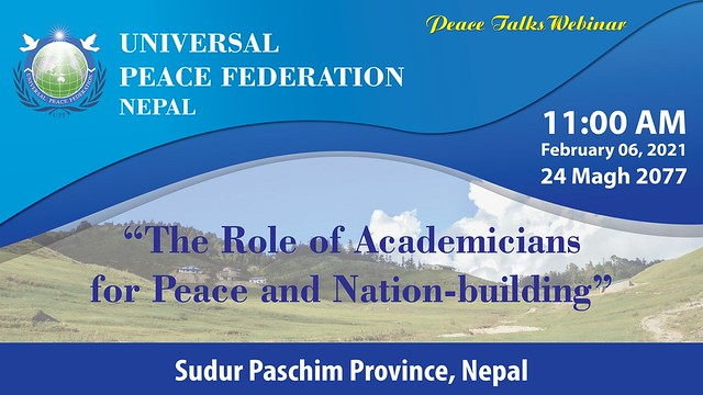 Nepal-2021-02-06-Nepal 'Peace Talks' Commemorates World Interfaith Harmony Week