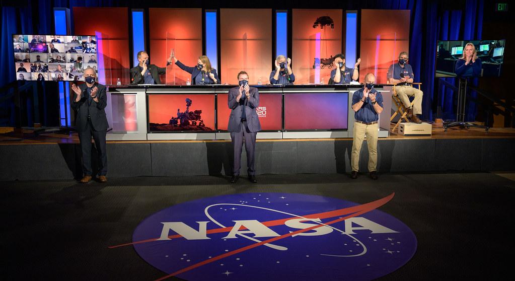 Mars 2020 Post-Landing Briefing (NHQ202102180019)