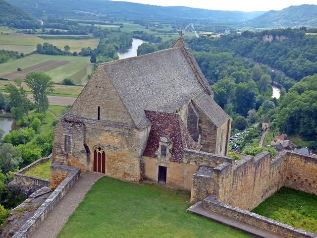 Chapelle du château de Beynac....Beynac et Cazenac