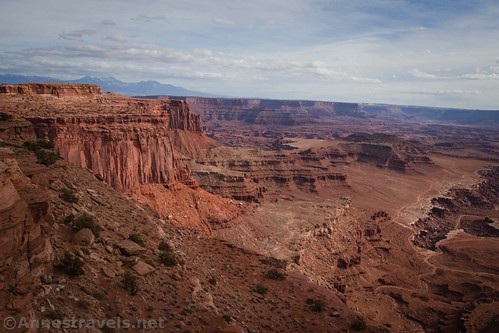 Cliffs and Canyons on the Lathrop Trail, Canyonlands National Park, Utah