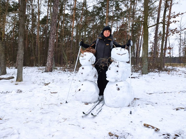 Three happy snowmen ;)